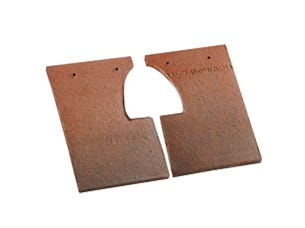 Zestaw podwójnych dachówek i pod dachówką  wentylacyjną
