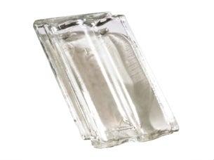 Szklane dachówki