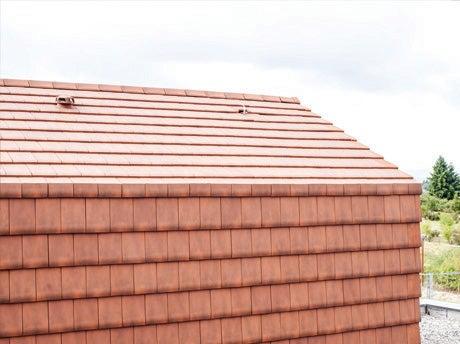 Dachówki ceramiczne okładzinowe