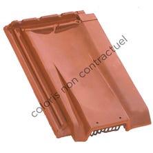 Ventilating tile H 10 Slate