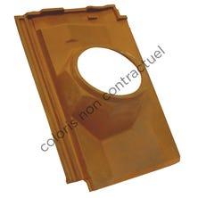 Pipe collar tile DIAMANT 160 Argentique