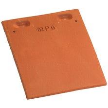 Tile and a half PLAIN TILE 17x27 Ste Foy Red Nuance