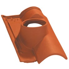Pipe collar tile OMEGA 10 160 Natural Red