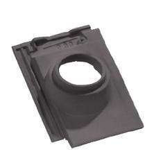 Pipe collar tile BEAUVOISE GRAPHITE 126 Comp Mang Slate