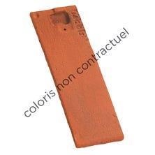 1/2 tile PLAIN TILE 17x27 Ste Foy Red Nuance