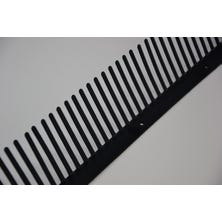 Comb eave strips 100mm - 1 m Red