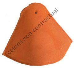 Bonnet hip tile without interlock Red Nuance